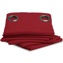 Tenda oscurante antifiamma Rosso Moondream